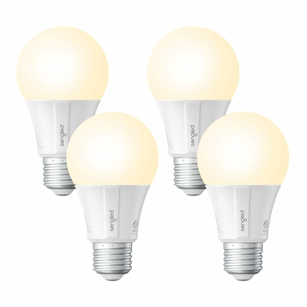 Sengled smart light bulbs - pack of four.